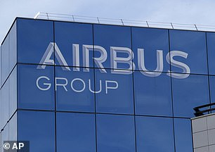 Airbus shares fell as much as 6 per cent amid reports the US authorities are investigating alleged corruption