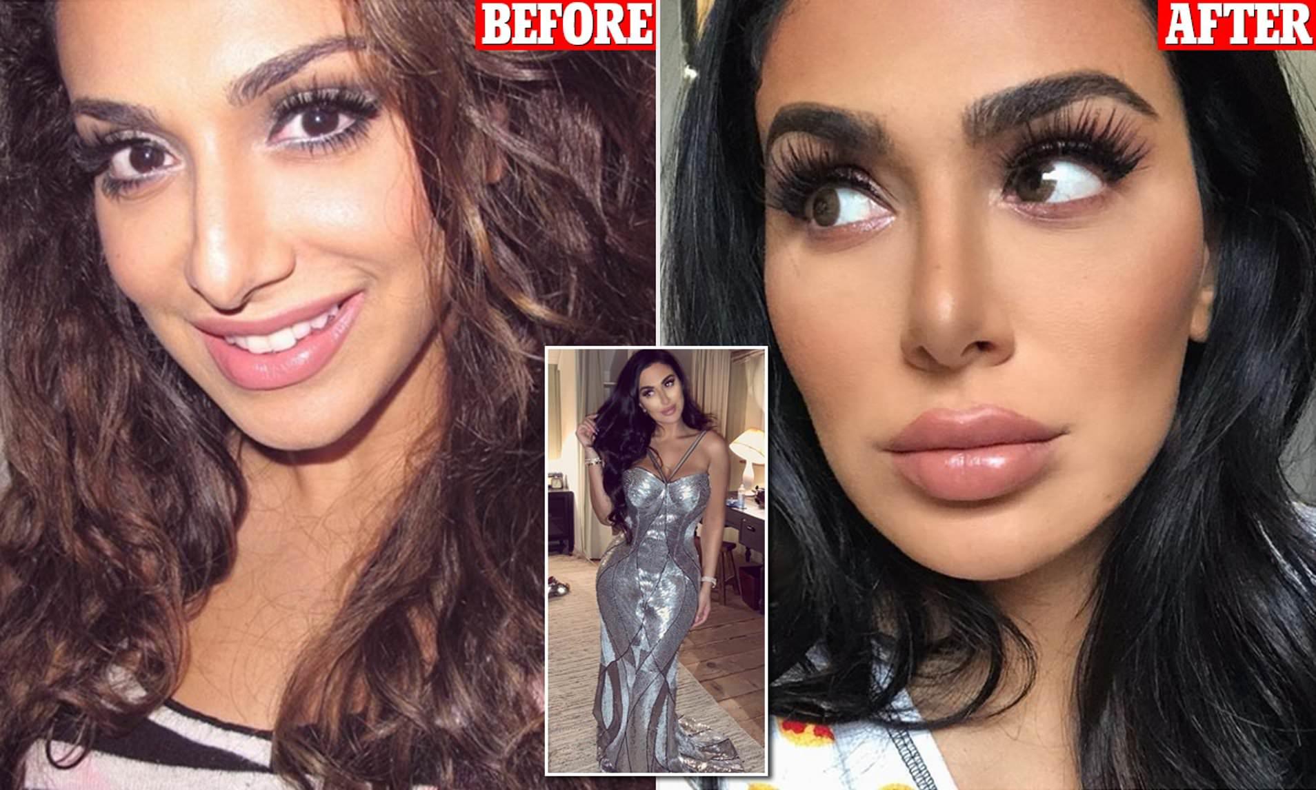 glamorous beauty blogger shares