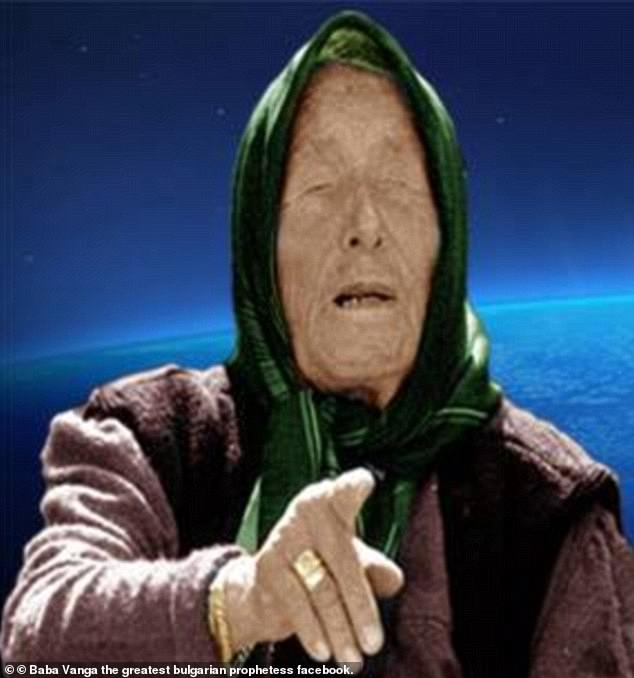 Bulgarian Baba, who died at the age of 85 in 1996, was also known as the 'Nostradamus of the Balkans'