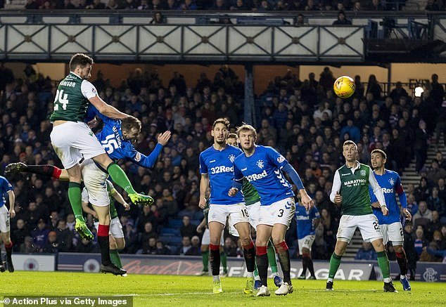 Darren McGregor's late header saw Rangers let slip three points against Hibernian