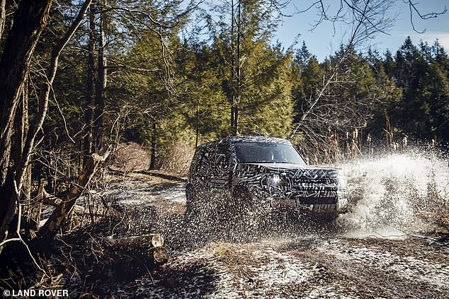The utilitarian 4x4 will be on sale in 2020, Land Rover UK officials have confirmed