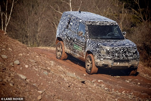 Assessments are being carried out to ensure the Defender is 'the most off-road capable Land Rover vehicle ever', according to the manufacturer