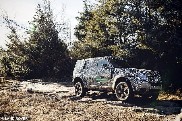 A hotter SVR model could also appear, with Land Rover hoping to create a family of Defender models