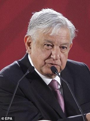 Der mexikanische Präsident Andrés Manuel López Obrador (oben) versprach in seiner Eröffnungsrede Anfang dieses Monats Visa und Arbeit für Migranten
