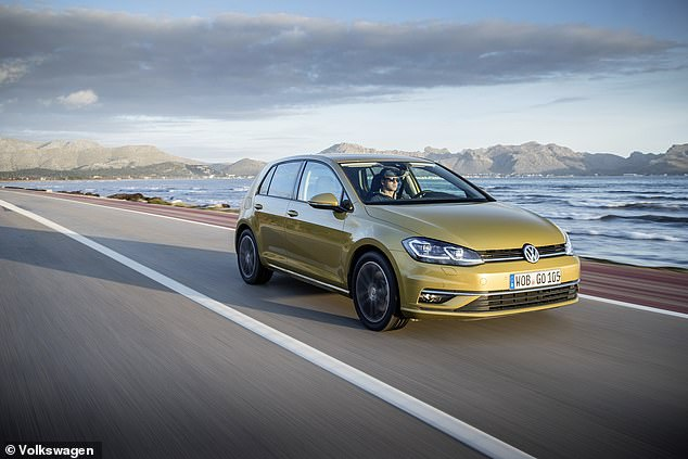 In-demand cars of 2018: There were over 42million searches for the Volkswagen Golf over the course of the year