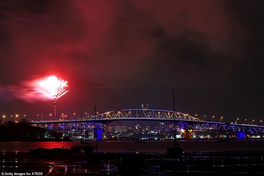 AUCKLAND: New Zealand has celebrated the New Year with thousands watching a spectacular firework display in Auckland