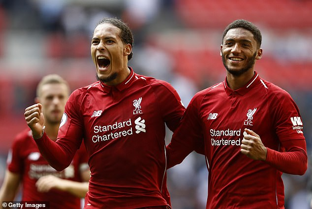 Liverpool's Joe Gomez admits he used to watch YouTube videos of Van Dijk to help his game