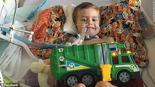 Alex Bustamante (pictured) was just six when he died in May after becoming paralyzed by AFM. His family says that the CDC did not recognize the polio-like illness as the cause of death