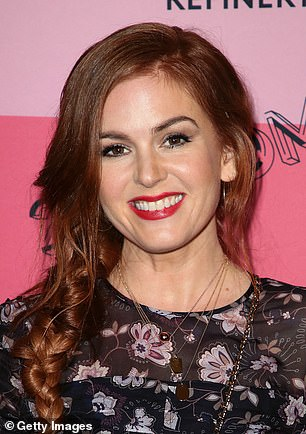 'Go blonde or go home': Actress Isla Fisher, 42, undergoes the ultimate transformation by colouring her firey red tresses to welcome the New Year. (L) In December 2018 (R) Now