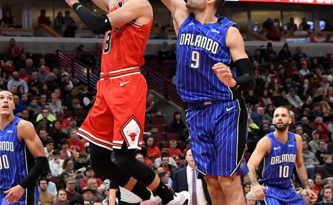 Vucevic Leads Magic To 112 84 Rout Of Bulls Daily Mail