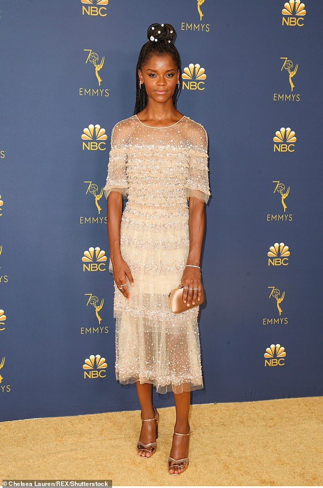Top box office star: Letitia Wright becomes the highest-grossing box office star of the year, with her four movies raking in $1.55 billion