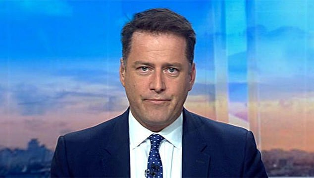 Ousted: It comes after long-serving Today Show host Karl Stefanovic (pictured) was axed from the program amid falling ratings for the show