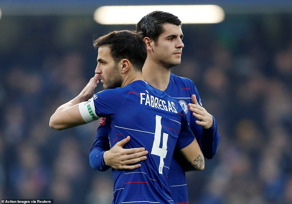Image result for fabregas dailymail