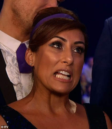 Bitchy: Jason told Richard Blackwood, Wes Nelson, Saira Khan, Melody Thornton, Brian McFadden and Ryan Sidebottom that they needed to perfect their finesse before next week