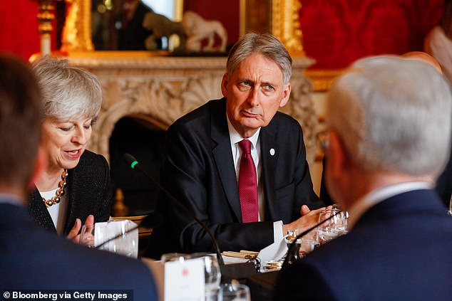 Philip Hammond, pictured at a session of the UK-Poland Inter-Governmental Consultations in London last month, has warned the health service must drastically improve efficiency to ensure the cash isn't wasted