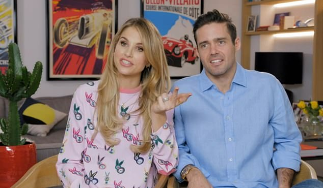 All access: Spencer Matthews and Vogue Williams had fans in hysterics  in the (VERY unfiltered) first episode of their new E4 show Spencer, Vogue and Baby Too on Monday night