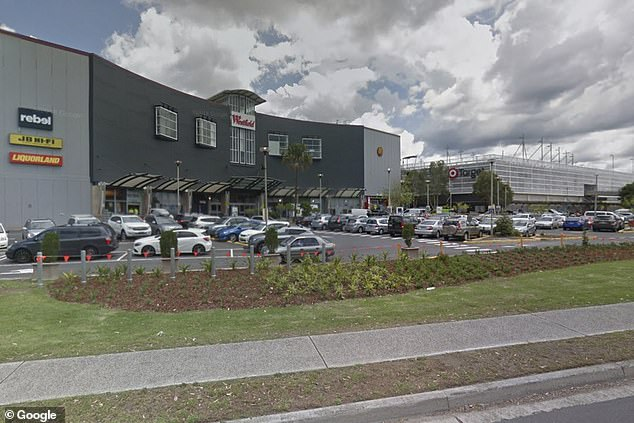The alleged incident occurred at Warringah Mall (pictured) on Sydney's northern beaches
