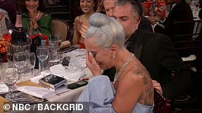 Winner this time? Gaga will again compete with Glenn Close for The Wife, who beat her at the Golden Globes result