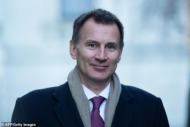 Foreign Secretary Jeremy Hunt (pictured in Downing Street this week) insisted the developments in Parliament over the past few days had shown it could block the UK from crashing out without an agreement