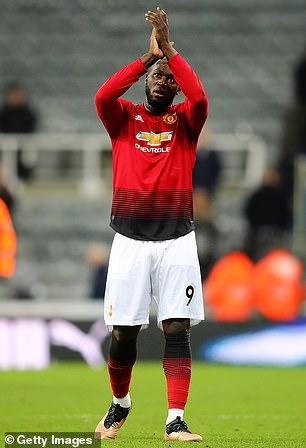 Romelu Lukaku has scored in his last three United appearances