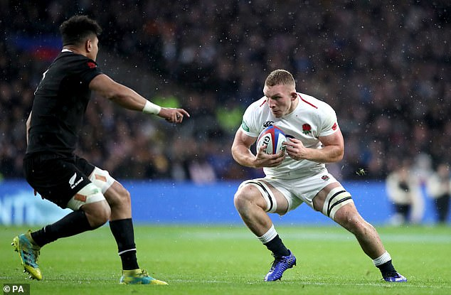 The openside flanker was an extraordinary player for England during the fall internationals
