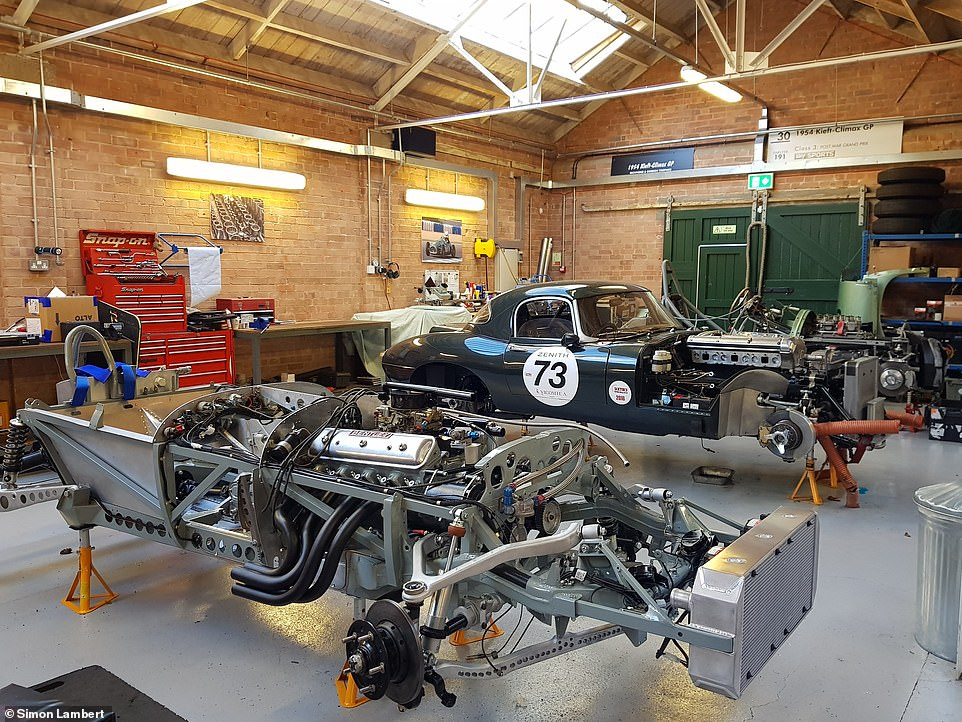 Bicester Heritage has transformed a dilapidated RAF base from the 1920s into a hub for classic car companies, such as Classic Performance Engineering