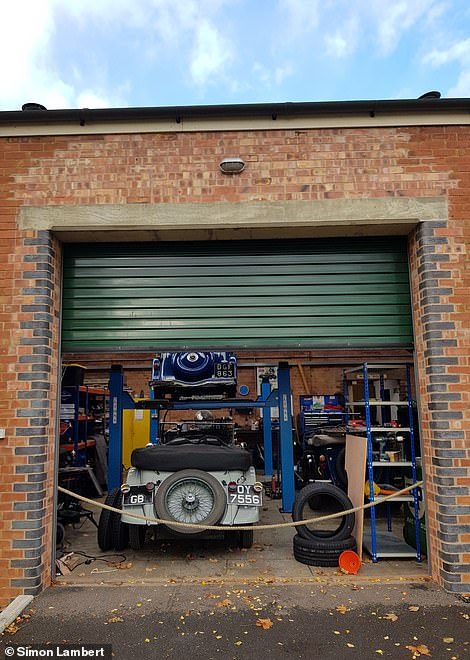 Look through Bicester Heritage and open one of the French doors. A classic car enthusiast will probably get a treat