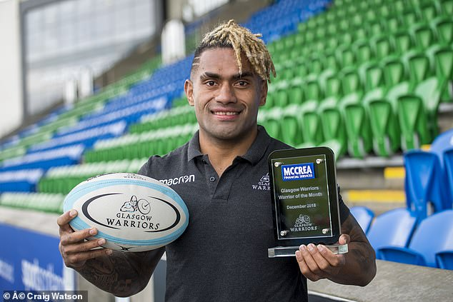 Matawalu revealed that he grew up playing rugby with everything he could find, including a coconut