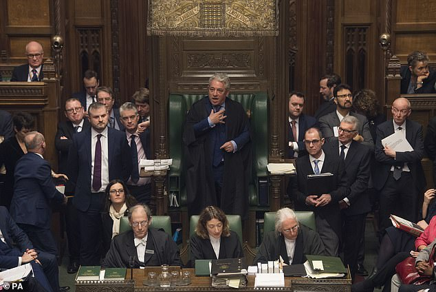 The stalled Brexit negotiations have led to power steadily shifting from the executive ¿ the Prime Minister, her No 10 machine and the Government as a whole ¿ to Parliament. The architect of this revolution is Commons Speaker John Bercow [File photo]