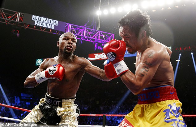 Pacquiao named Floyd Mayweather, who beat him in 2015, as one of his best opponents