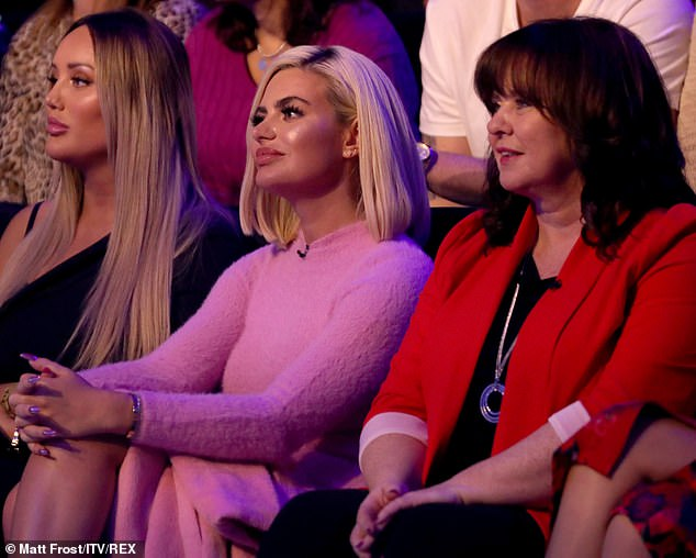 """Not happy: As the camera moved toward Megan's blank face, the audience quickly commented on the situation, claiming that her face was a """"picture"""" of how it all took place"""