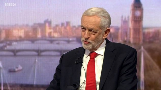 On the BBC's Andrew Marr show yesterday, Jeremy Corbyn made clear the party is on high alert to try to force the PM out and a general election