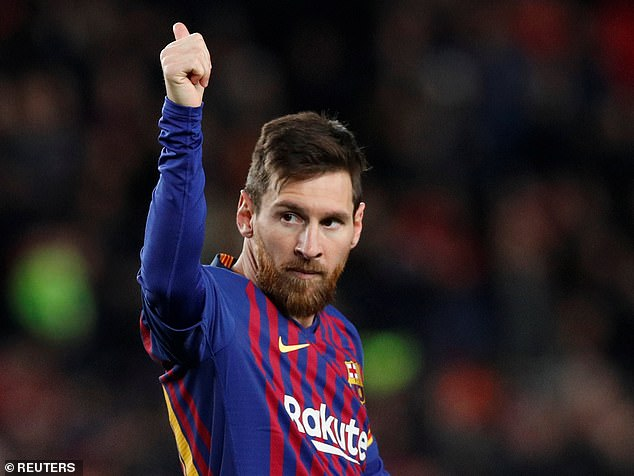 Lionel Messi struck his 400th La Liga goal on Sunday evening in the match against Eibar