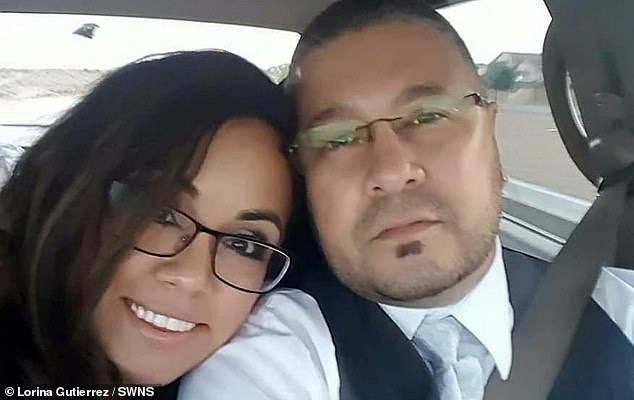 Mrs. Gutierrez's husband, Stephen, 42, said that his wife acted as if possessed by an evil spirit, becoming paranoid with cameras in the couple's house and also trying to punch Gutierrez during the his psychiatric evaluation