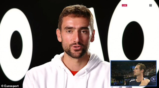 Croatia's Marin Cilic relished the battles with Murray having a face-to-face time and again