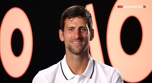 Novak Djokovic joked how he previously was comfortably with Murray leading the way