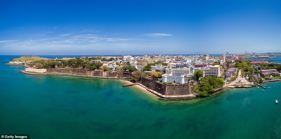Old San Juan in Puerto Rico, pictured, is the oldest settlement on the list. It was fifth on the list & # 39; must photograph & # 39;