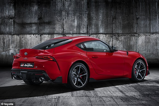 """All the Supras will be equipped with two different driving modes: Normal and Sport - for the road and a special """"track"""" setting that prevents stability control by electronically interfering when you want to send the samurai sports car sideways"""