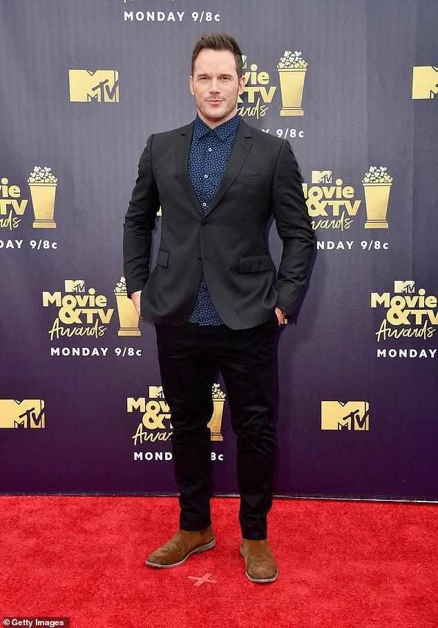 Nice: Chris Pratt would have asked Katherine Schwarzenegger's parents