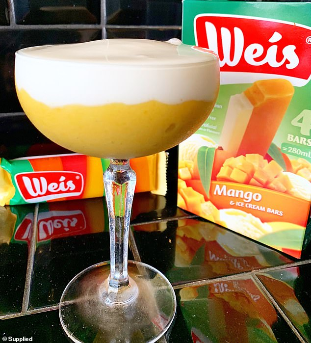 Tasty! Milky Lane has upped their game with their latest creation - the Mango Weis Bar cocktail