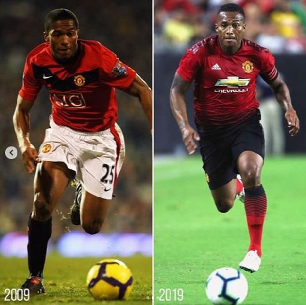 Antonio Valencia will celebrate 10 years at Manchester United in June, having signed in 2009