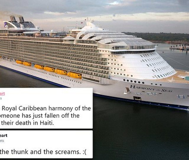 Teen Dies On Royal Caribbean Cruise Liner While Trying To Climb Balcony Daily Mail Online
