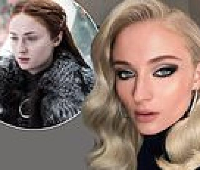 Sophie Turner Reveals She Wasnt Allowed To Wash Her Hair While Filming For Game Of Thrones As Release Date For Shows Final Season Is Confirmed