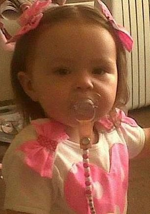 Lauren Wade, who was two years and five months old, died from complications arising from malnutrition in March 2015