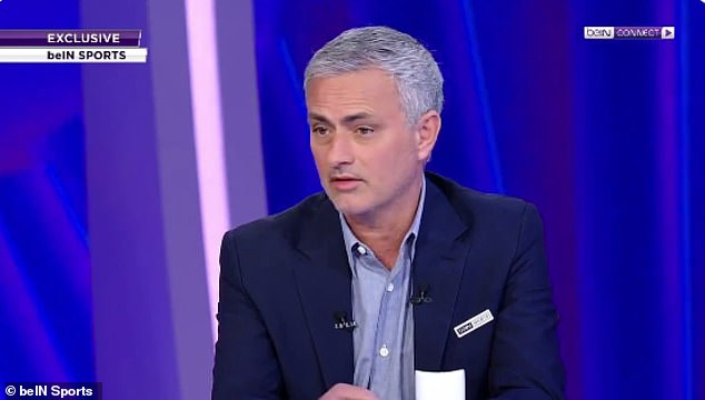 It was a thinly-veiled dig from Sanchez at Jose Mourinho who was sacked back in December