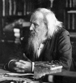 Ask most chemists who discovered the periodic table and you will almost certainly get the answer Dmitri Mendeleev (pictured). The Russian scientist was the first to publish a version of the table that we would recognise today, in 1869