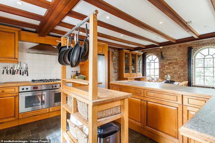 Masterchefs: The kitchen of the property has two ovens, a large stove and plenty of room to maneuver during a storm