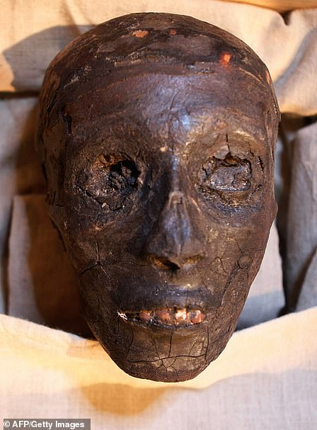 The face of Tutankhamun was an Egyptian pharaoh of the 18th dynasty, and ruled between 1332 BC and 1323 BC.