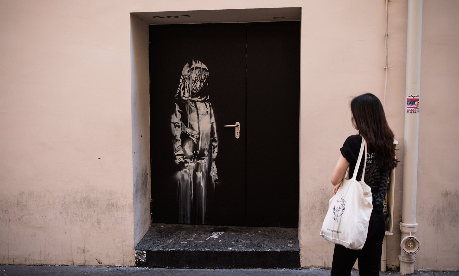 Thieves Steal Banksy Artwork Graffitied Onto The Bataclan