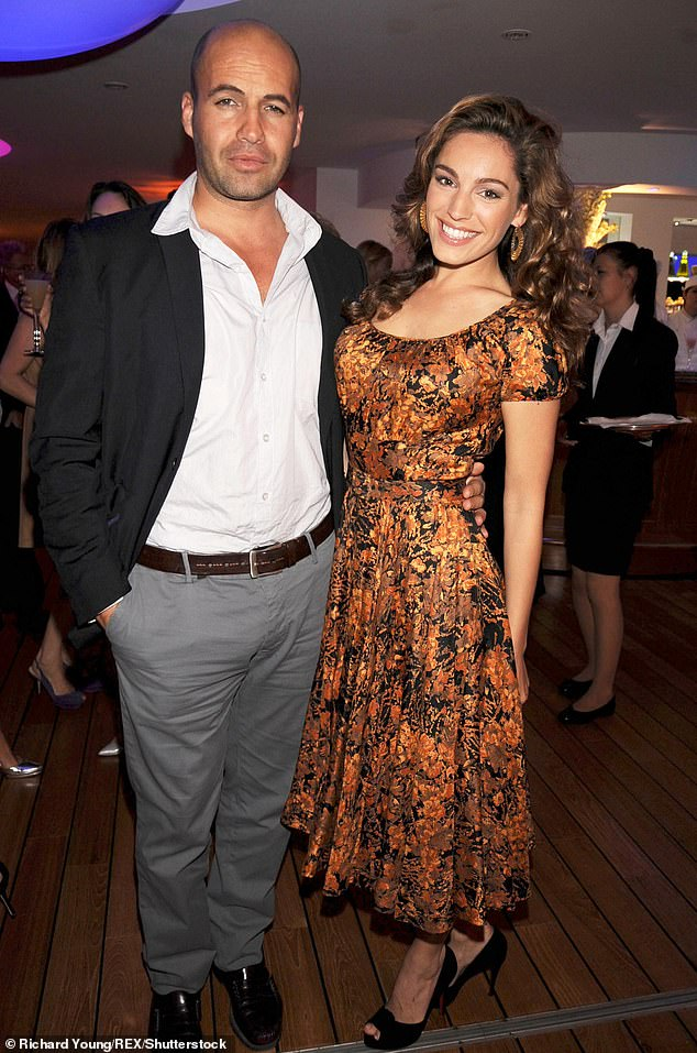 Exes: Billy was engaged to Kelly Brook with the pair having an on-off relationship before calling it quits in August 2008 (pictured May 2008)